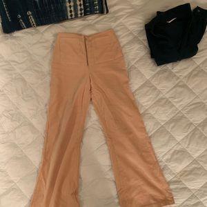 Paloma Wool Velvet High Rise Trousers 🍑